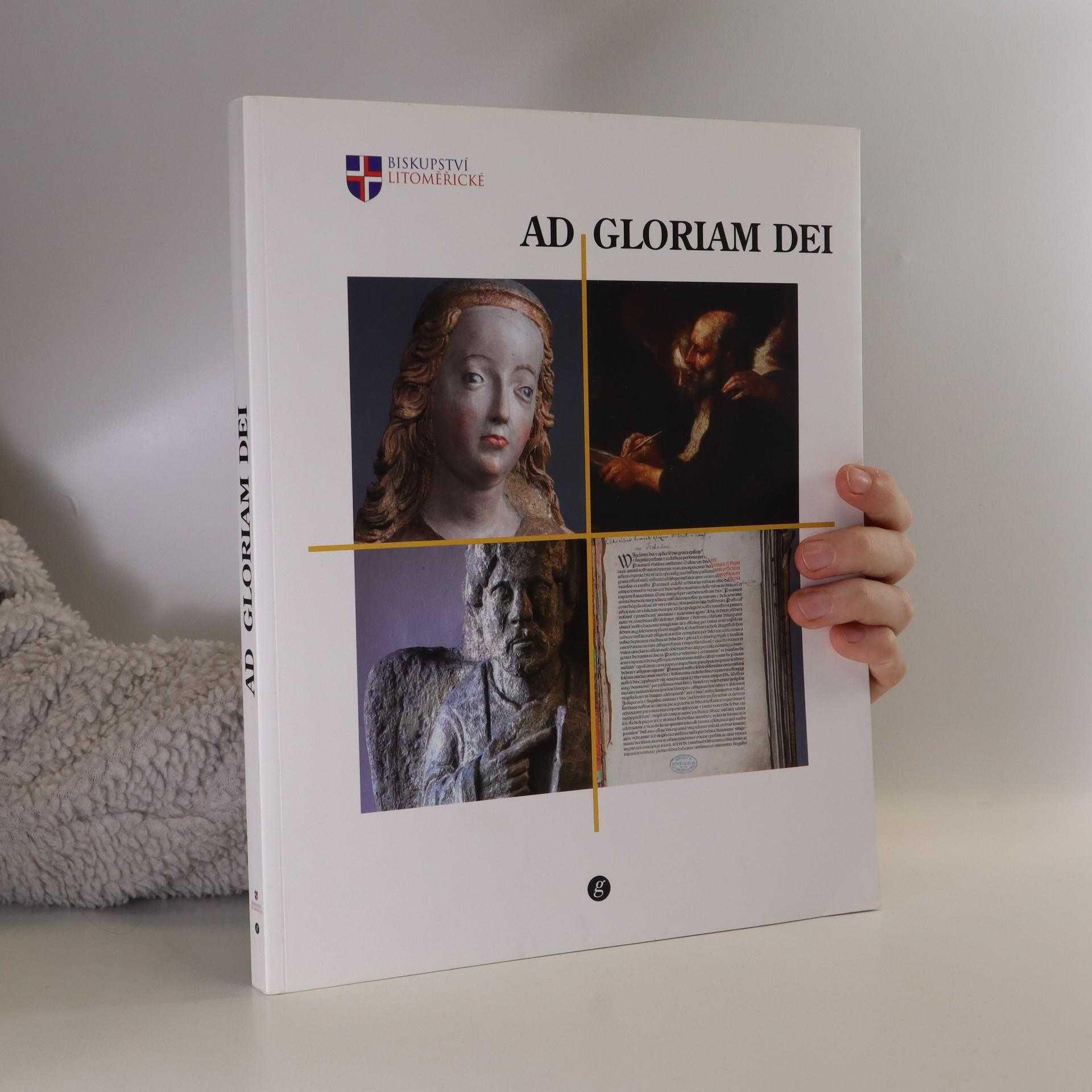 antikvární kniha Ad gloriam Dei, 2015