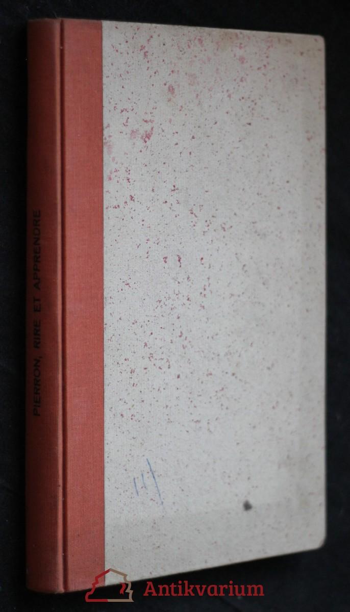 antikvární kniha Rire et apprendre, neuveden