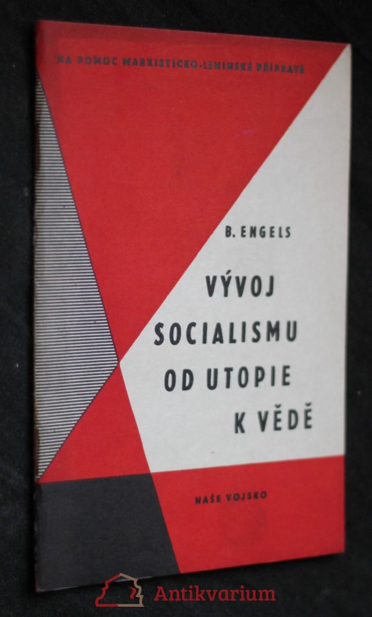 Vývoj socialismu od utopie k vědě