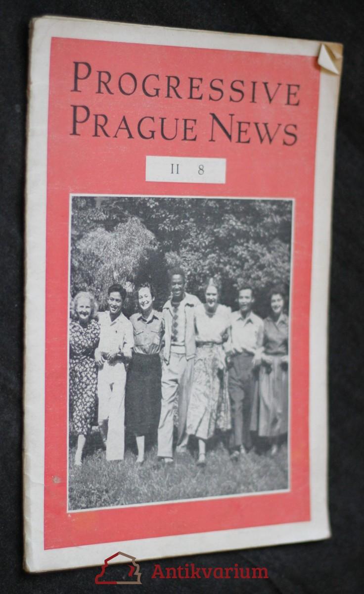 antikvární kniha Progressive Prague news , 1952