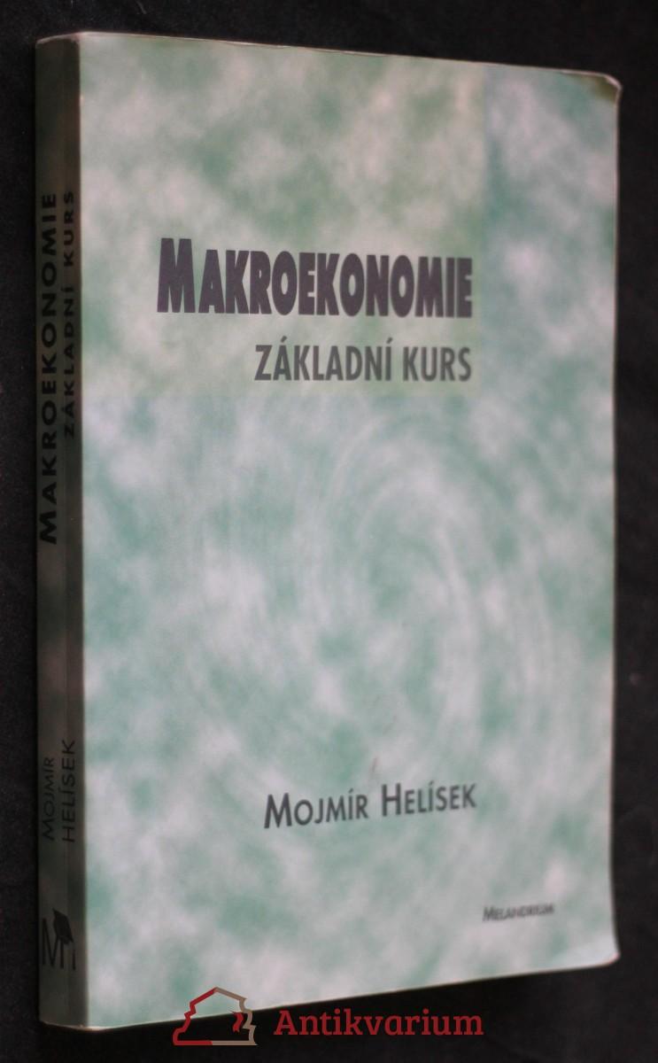 Makroekonomie : základní kurs