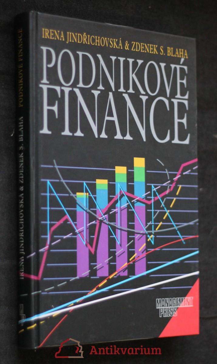 antikvární kniha Podnikové finance, 2001