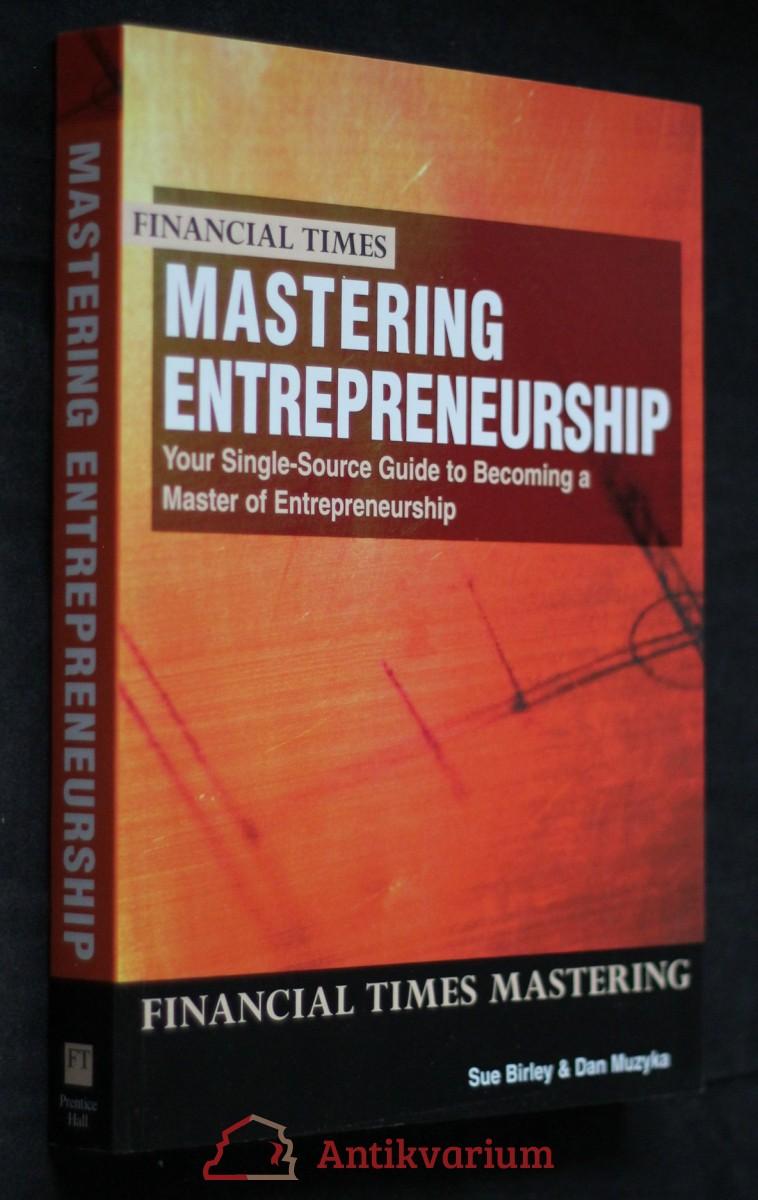 antikvární kniha Financial times mastering entrepreneurship , 2000
