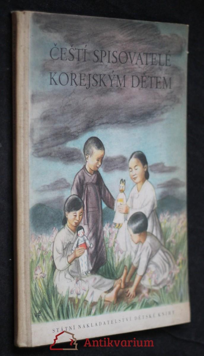 Čeští spisovatelé korejským dětem