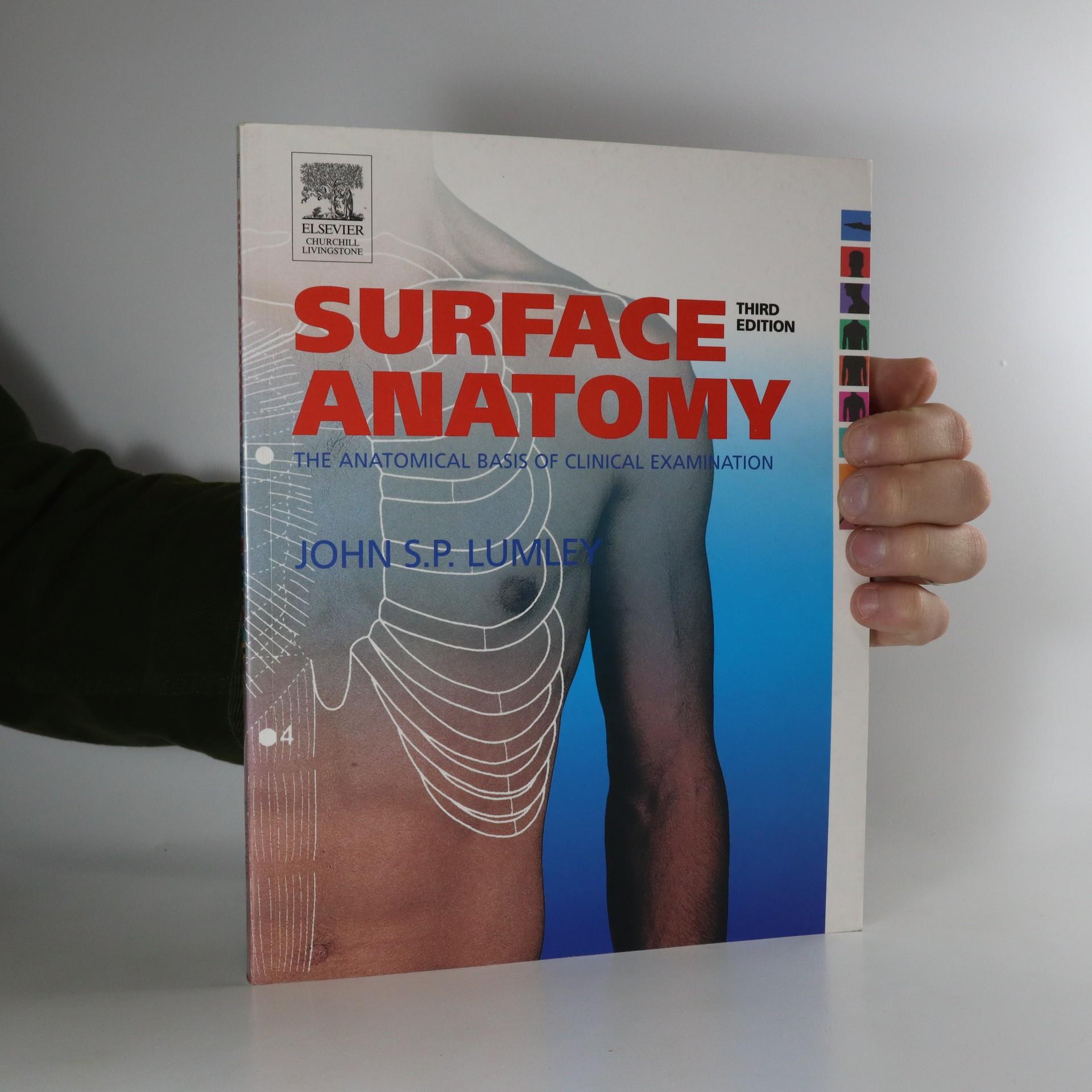 antikvární kniha Surface anatomy. The anatomical basis of clinical examination, neuveden