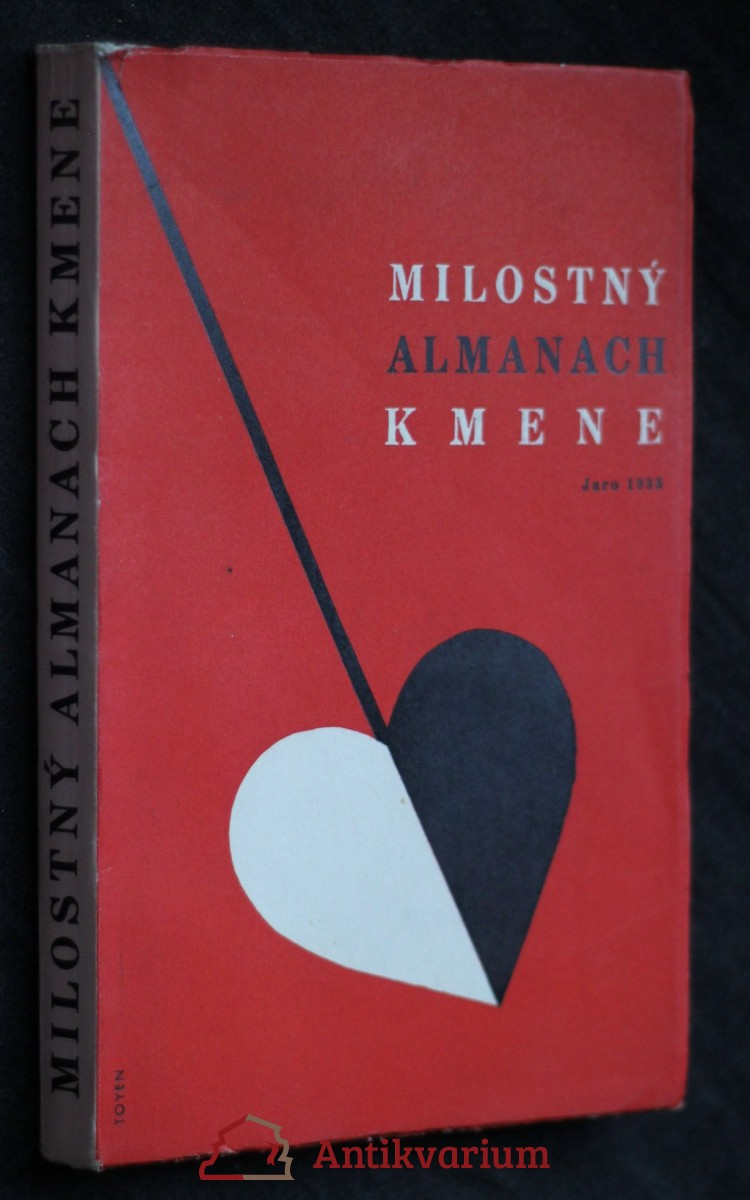 Milostný almanach Kmene pro jaro 1933