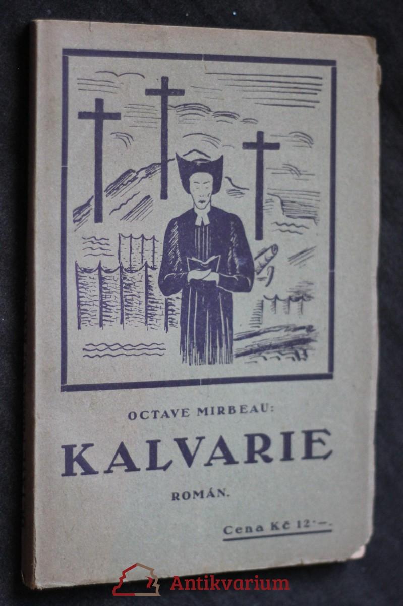 antikvární kniha Kalvarie : Román, 1923