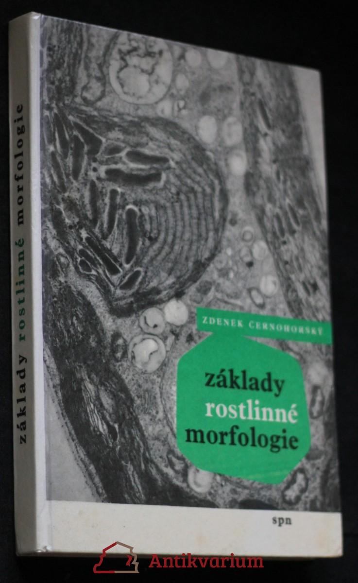 antikvární kniha Základy rostlinné morfologie, 1957