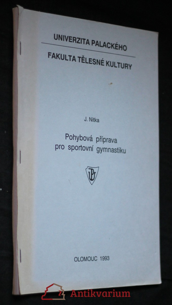 antikvární kniha Pohybová příprava pro sportovní gymnastiku, 1993