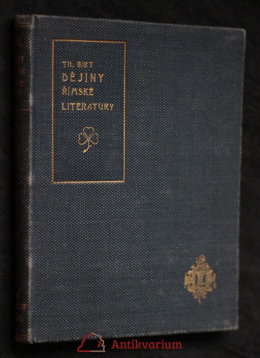 Dějiny římské literatury v pěti hodinách