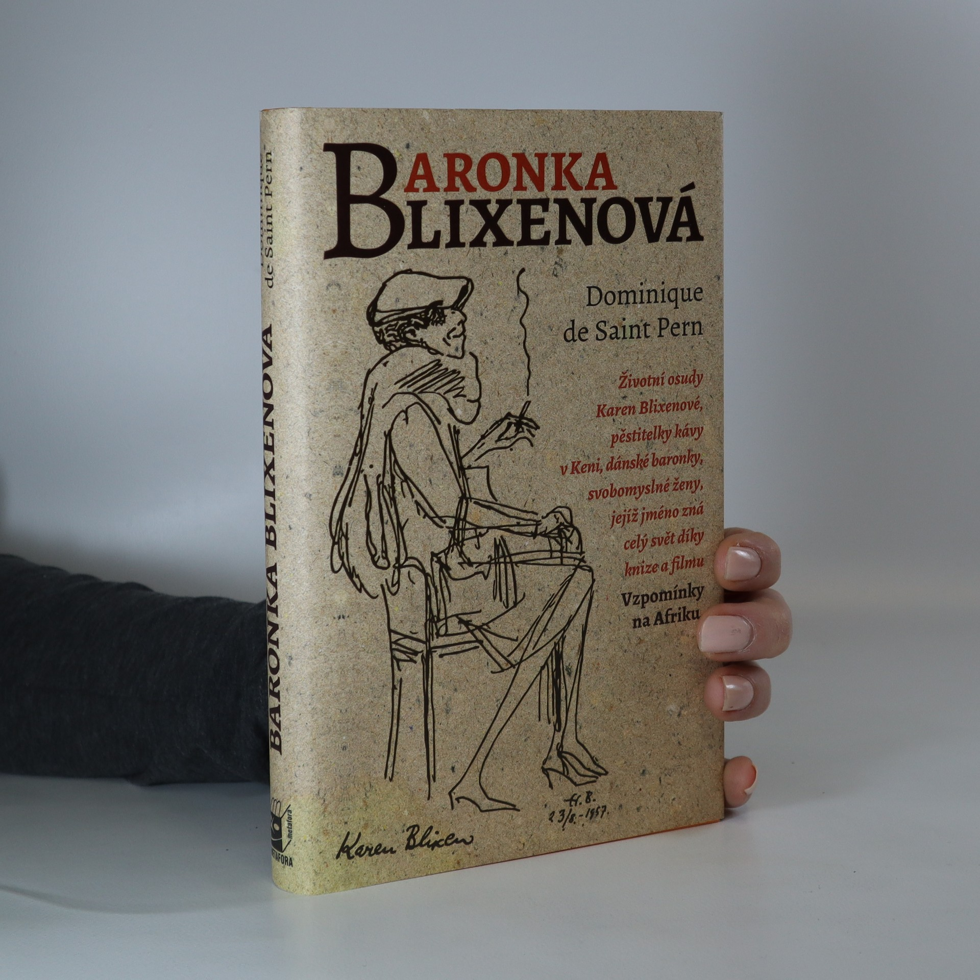 antikvární kniha Baronka Blixenová, 2016