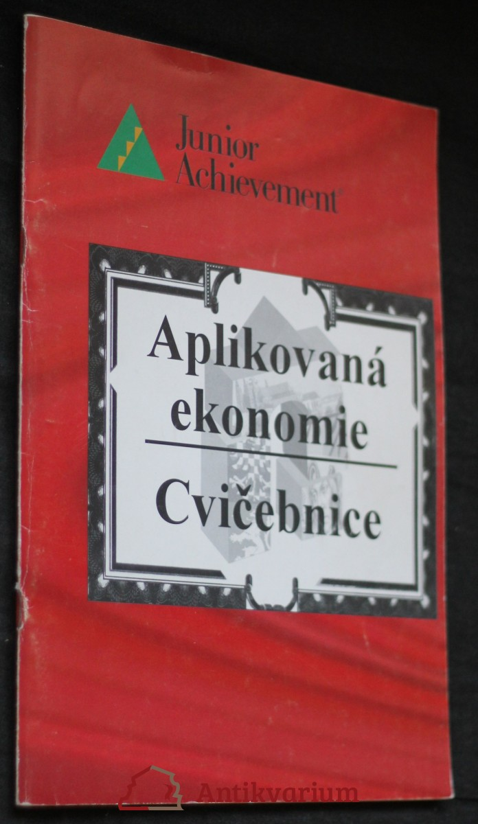 antikvární kniha Aplikovaná ekonomie, cvičebnice , 1996
