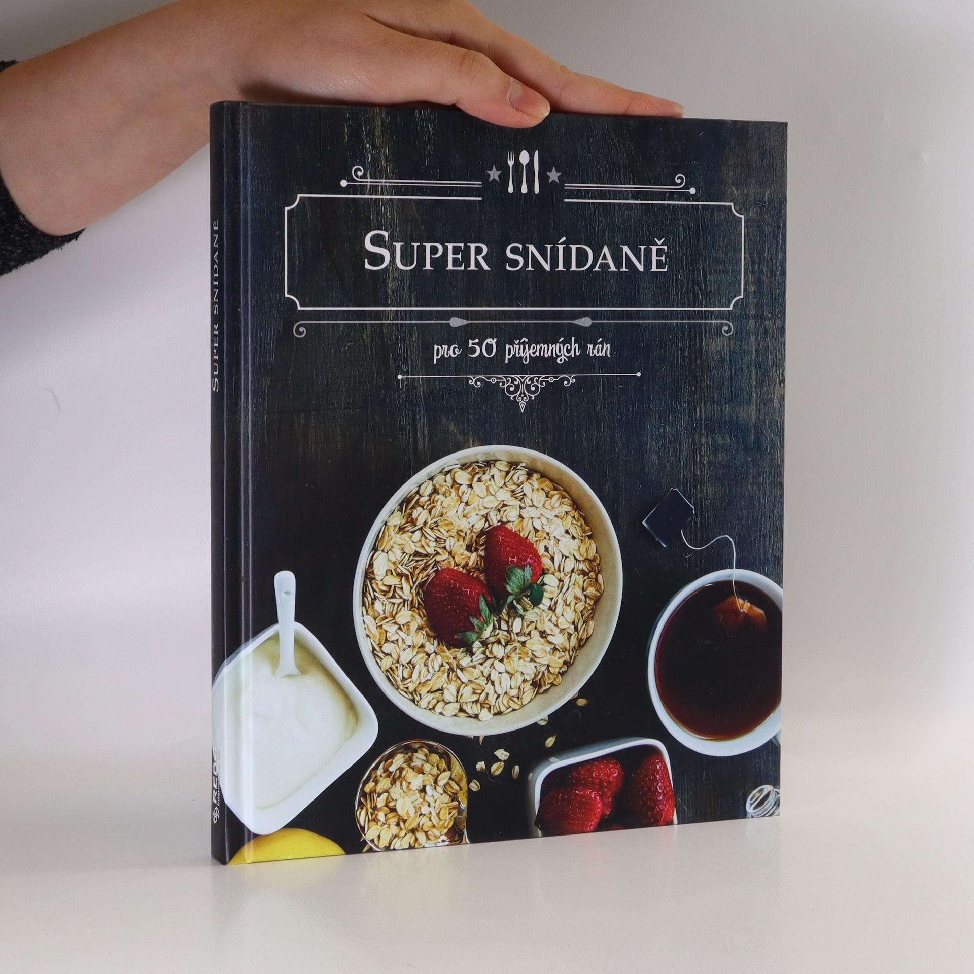 antikvární kniha Super snídaně, 2018