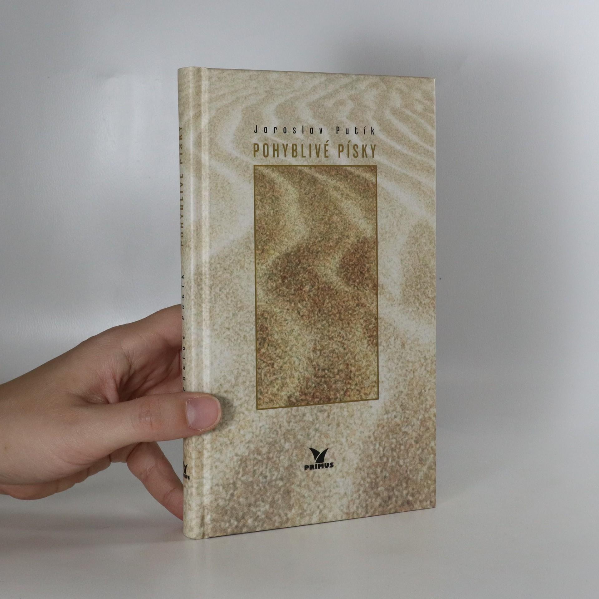 antikvární kniha Pohyblivé písky, 2004