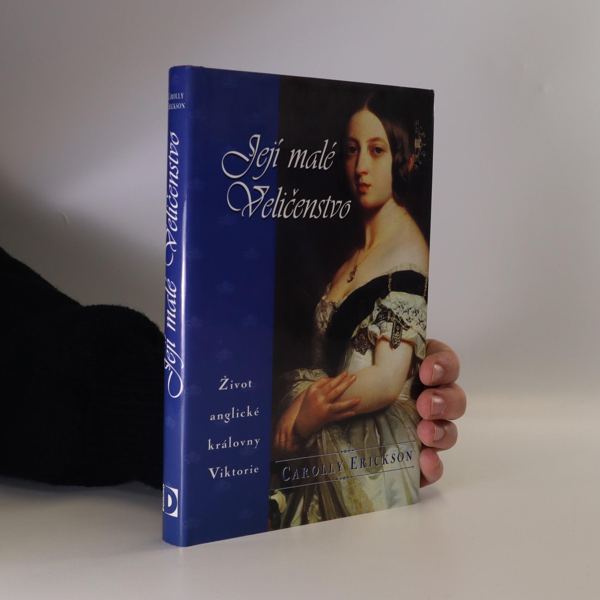 antikvární kniha Její malé Veličenstvo. Život anglické královny Viktorie, 1998