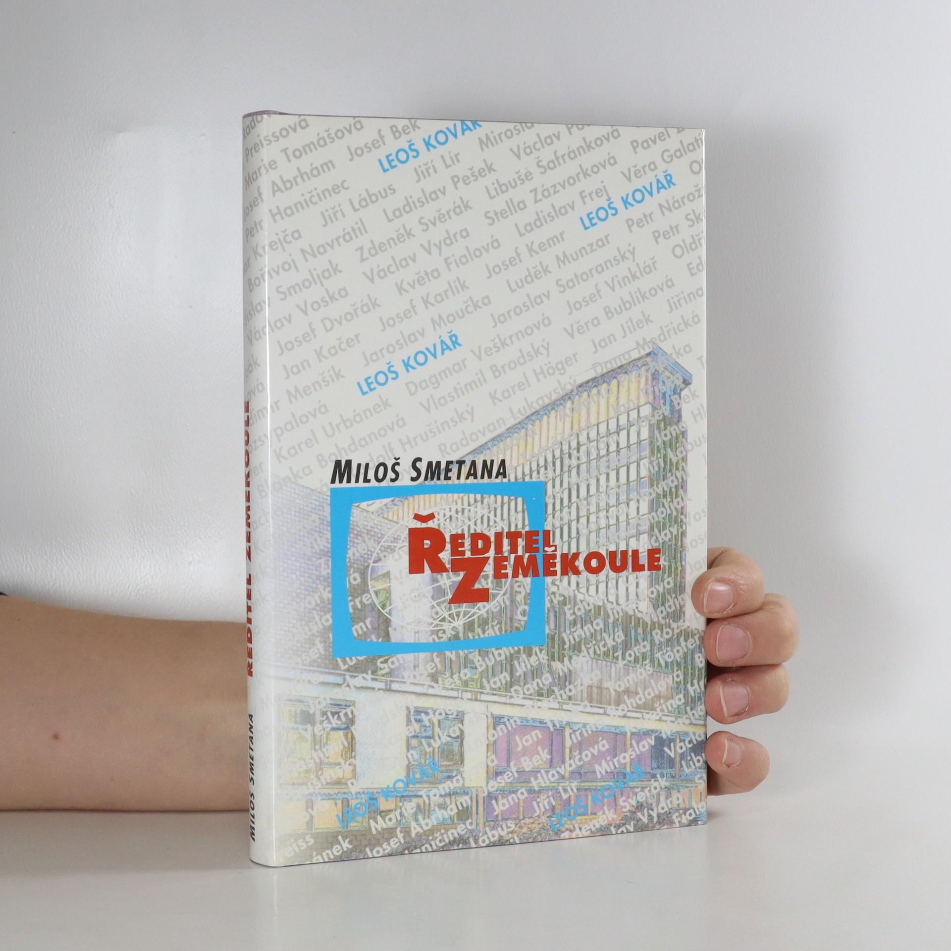 antikvární kniha Ředitel zeměkoule (věnování autora), 1996