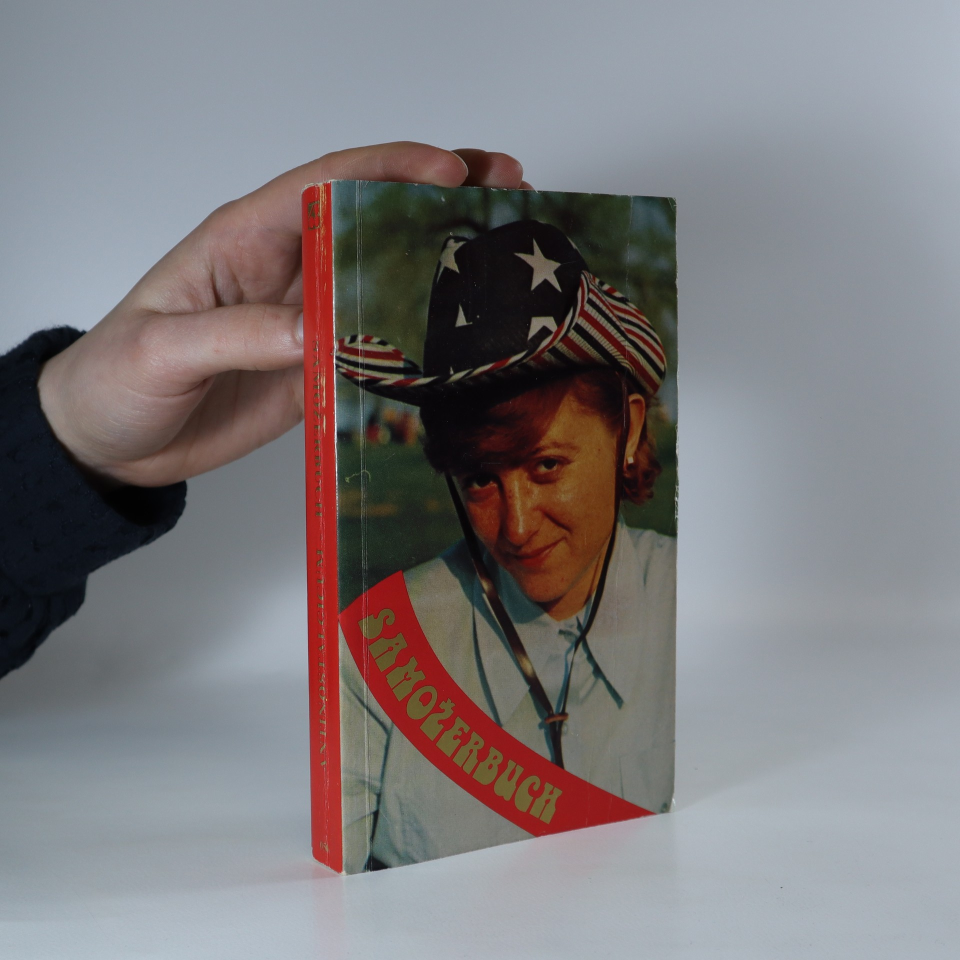 antikvární kniha Samožerbuch. Antinostalgicum (s účtenkou od Sixty-Eight Publishers), 1977