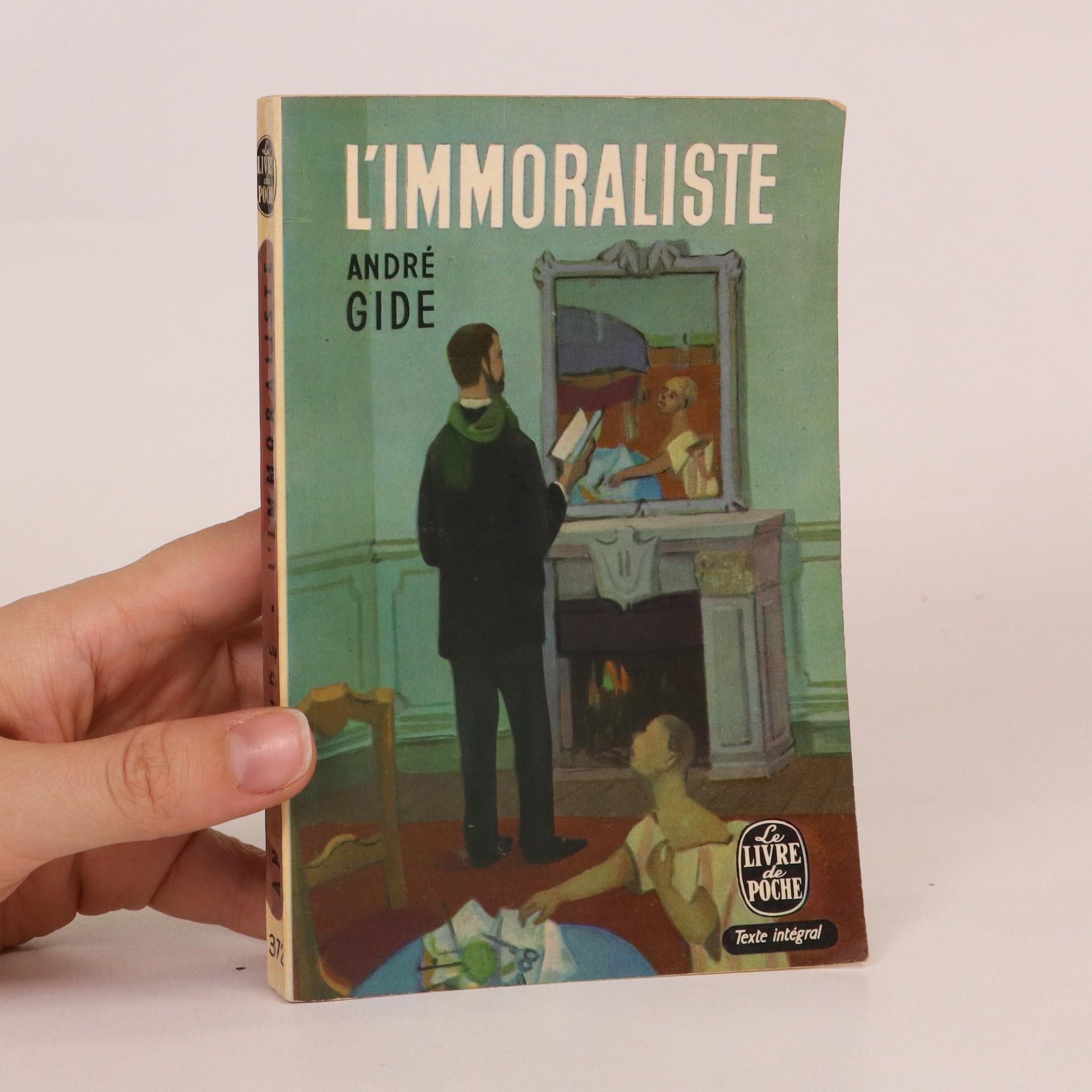 antikvární kniha L'immoraliste, 1969