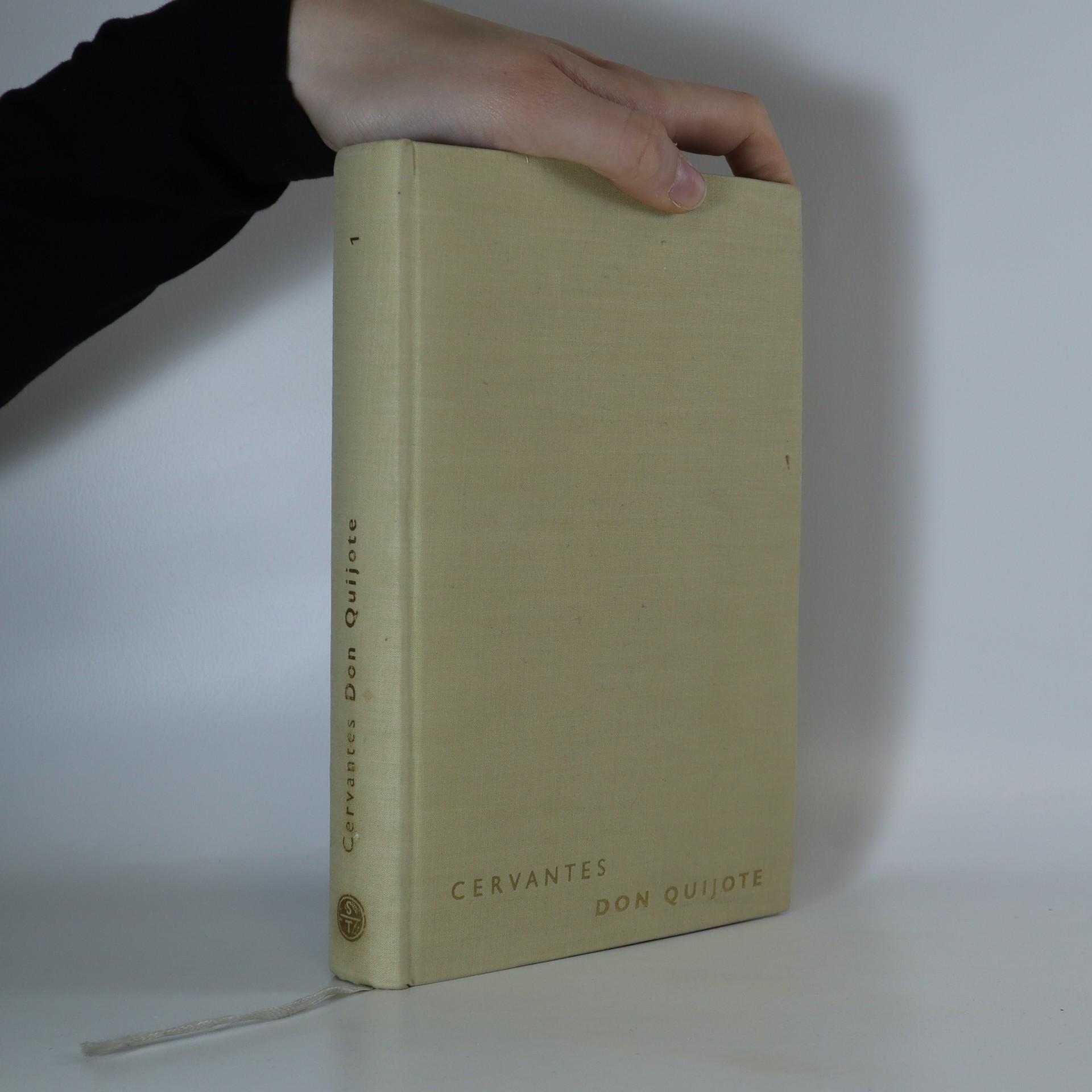 antikvární kniha Dômyselný rytier Don Quijote de la Mancha, 1965