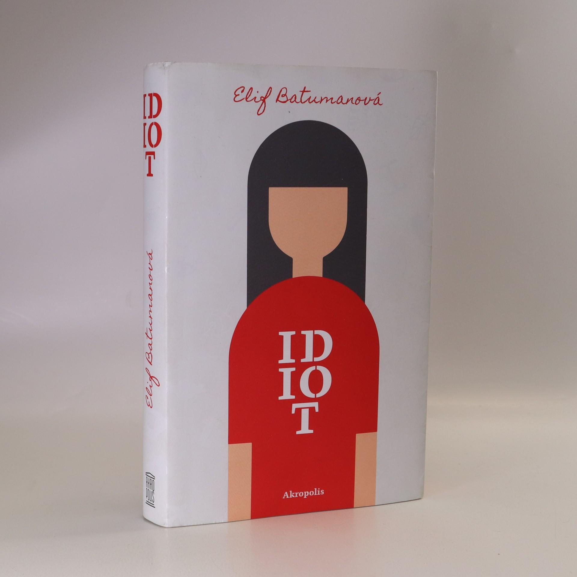 antikvární kniha Idiot, 2019
