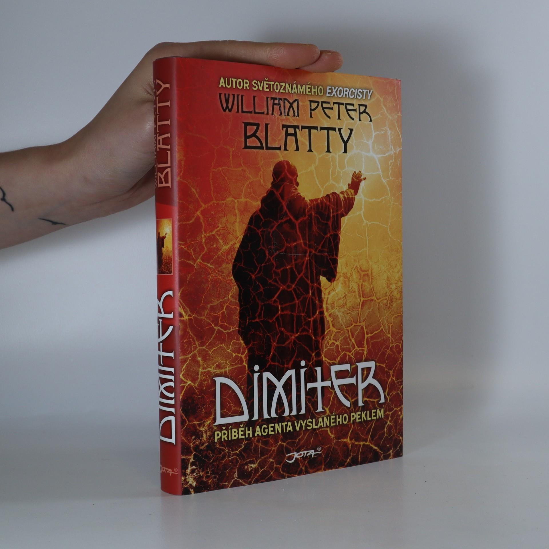antikvární kniha Dimiter. Příběh agenta vyslaného peklem, 2011