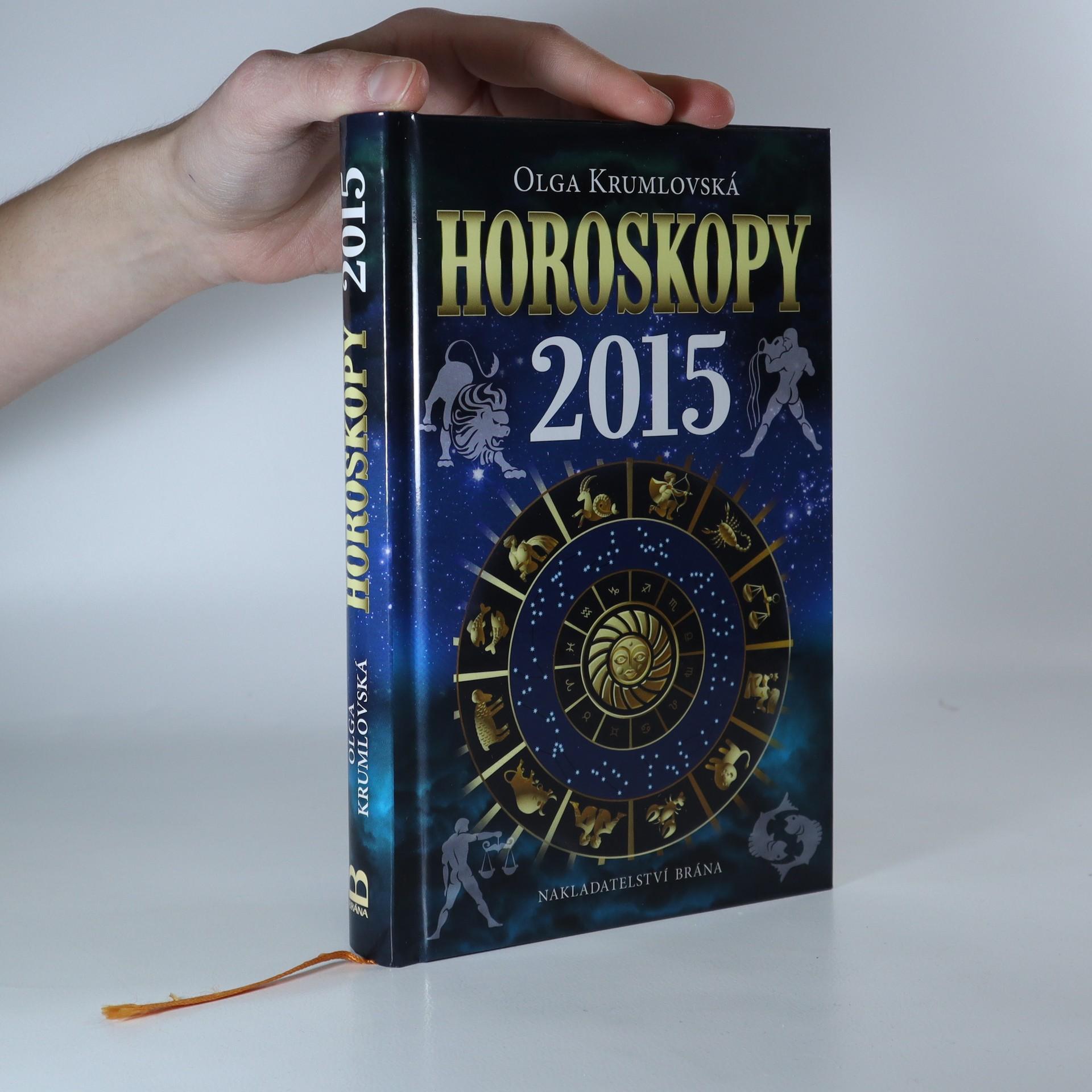 antikvární kniha Horoskopy 2015, 2014