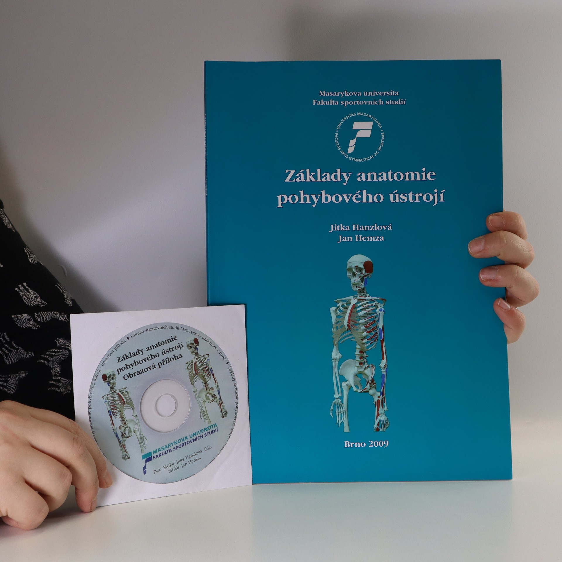 antikvární kniha Základy anatomie pohybového ústrojí (obsahuje CD), 2009