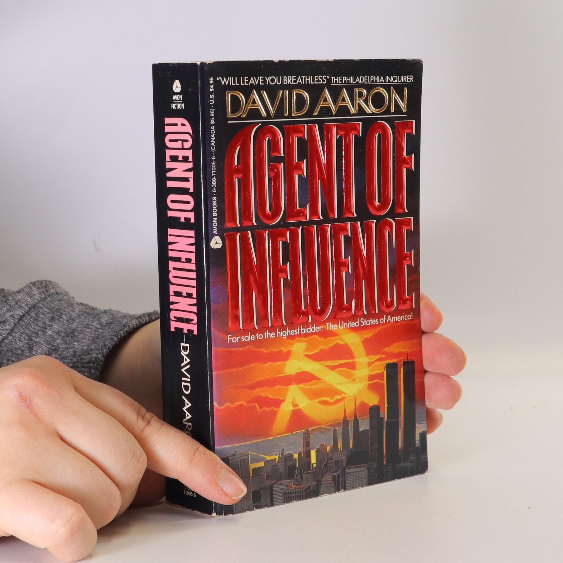 antikvární kniha Agent of Influence, 1990