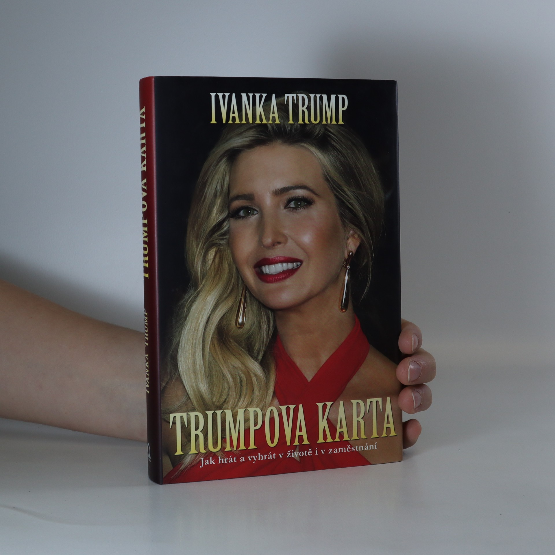antikvární kniha Trumpova karta, 2016