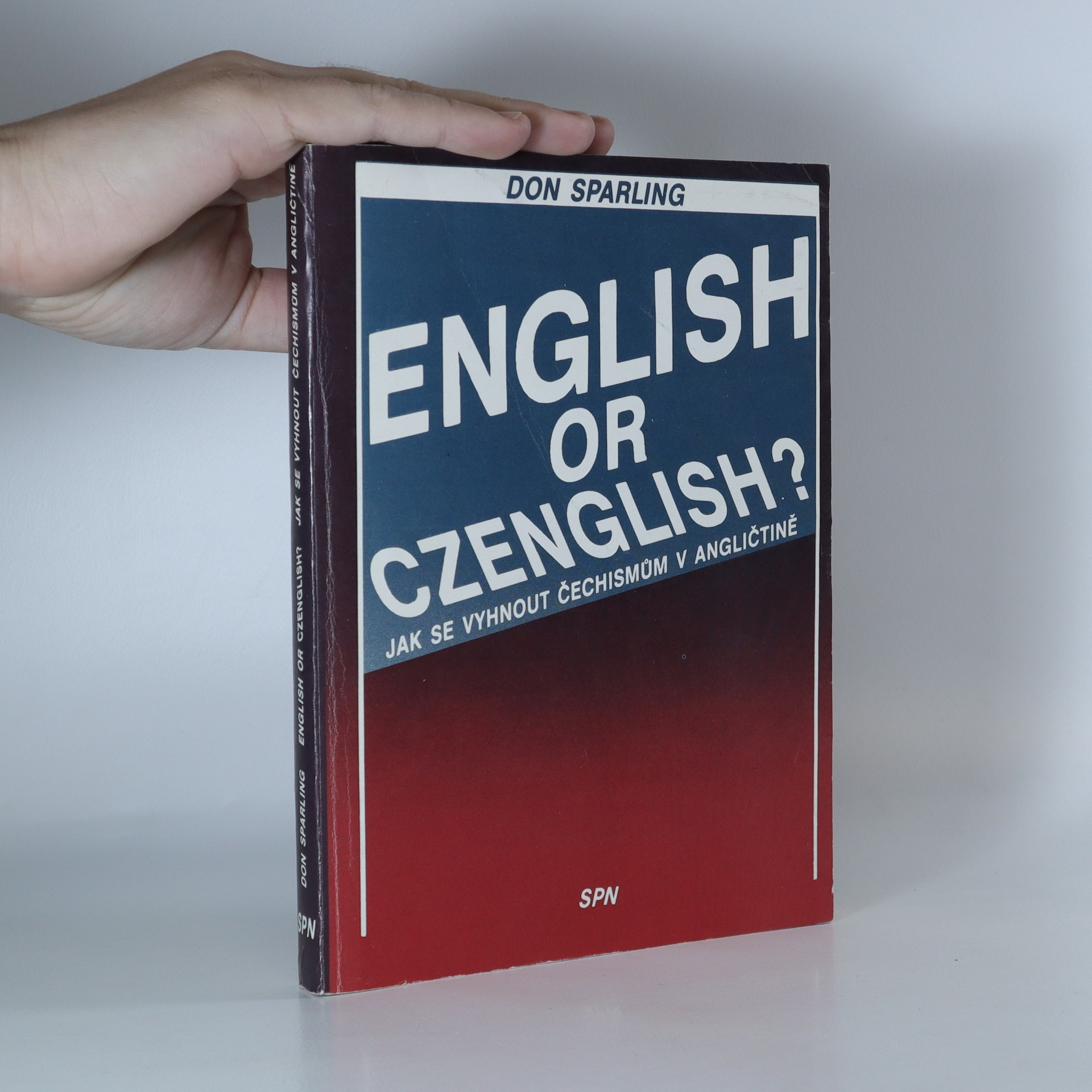 antikvární kniha English or Czenglish?, 1990