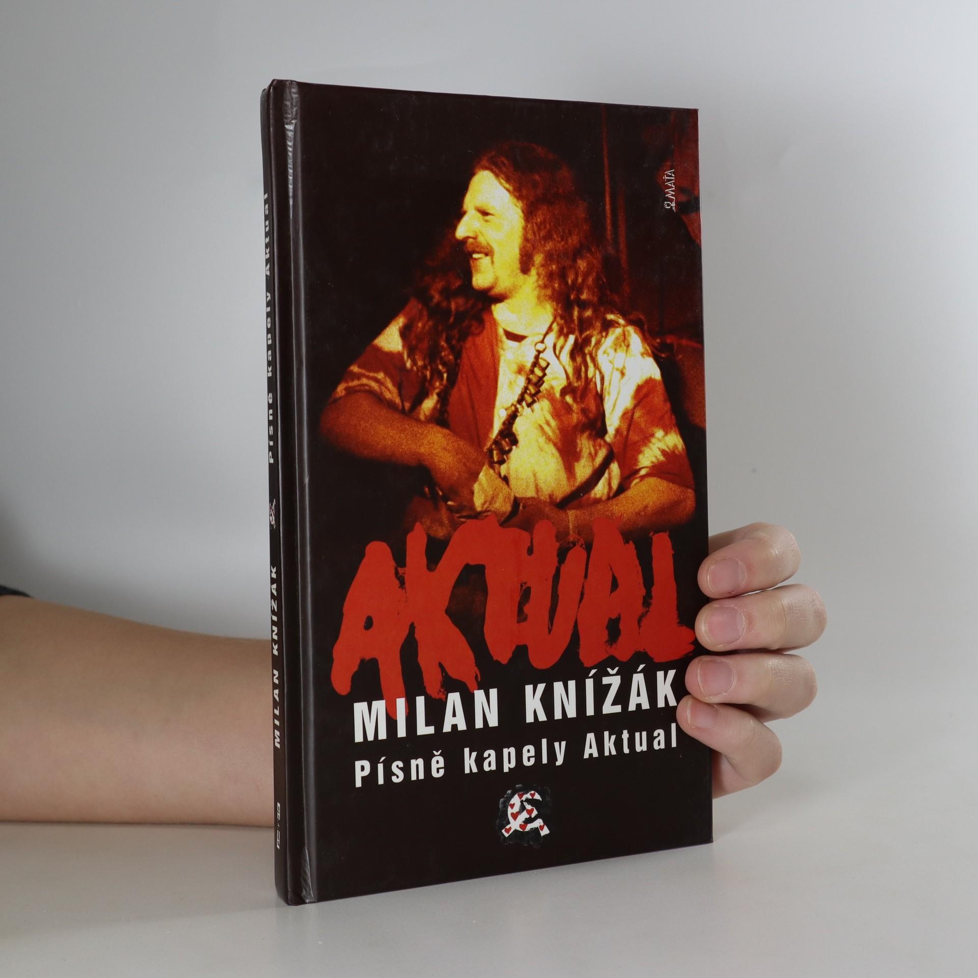 antikvární kniha Písně kapely Aktual, 2003