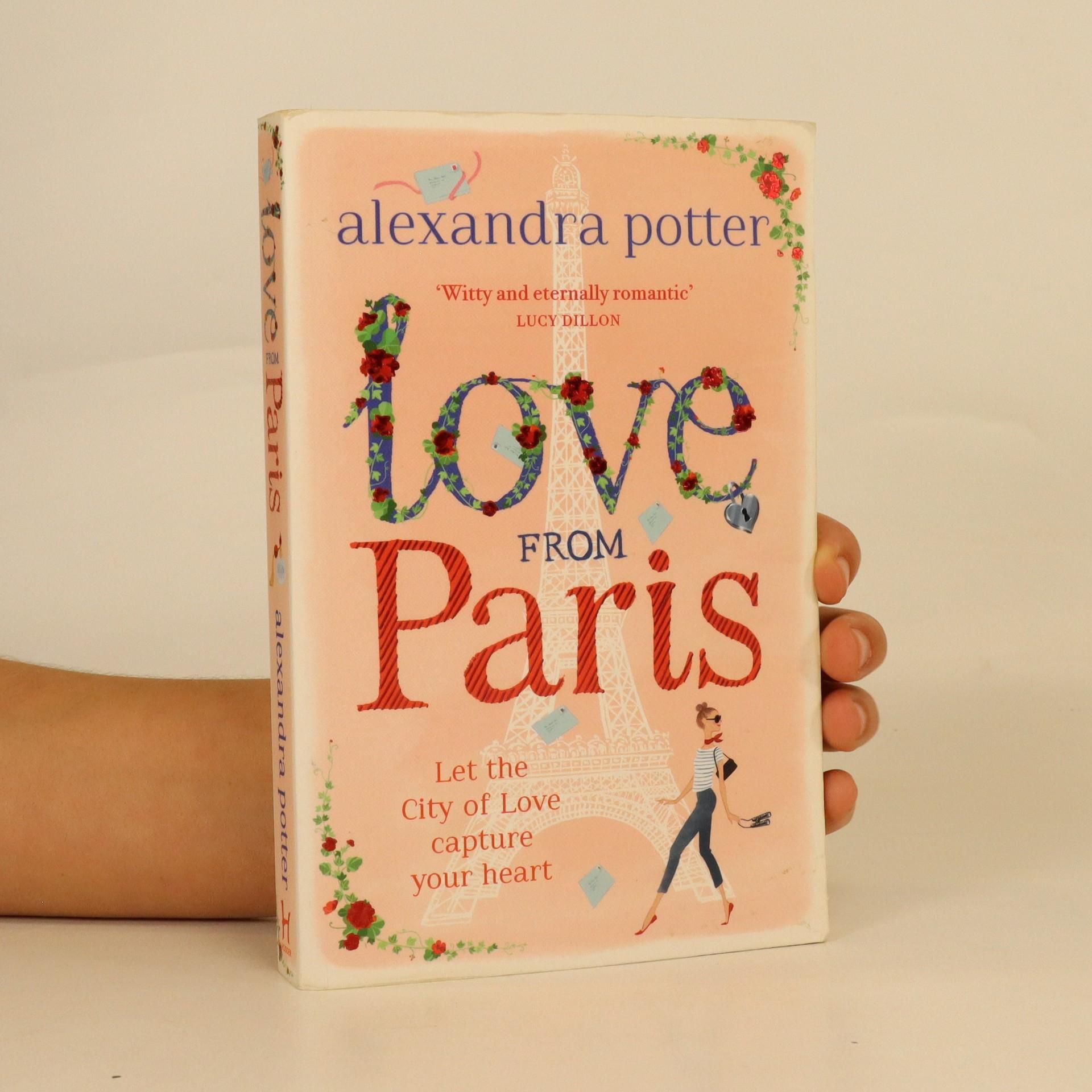 antikvární kniha Love from Paris, 2015