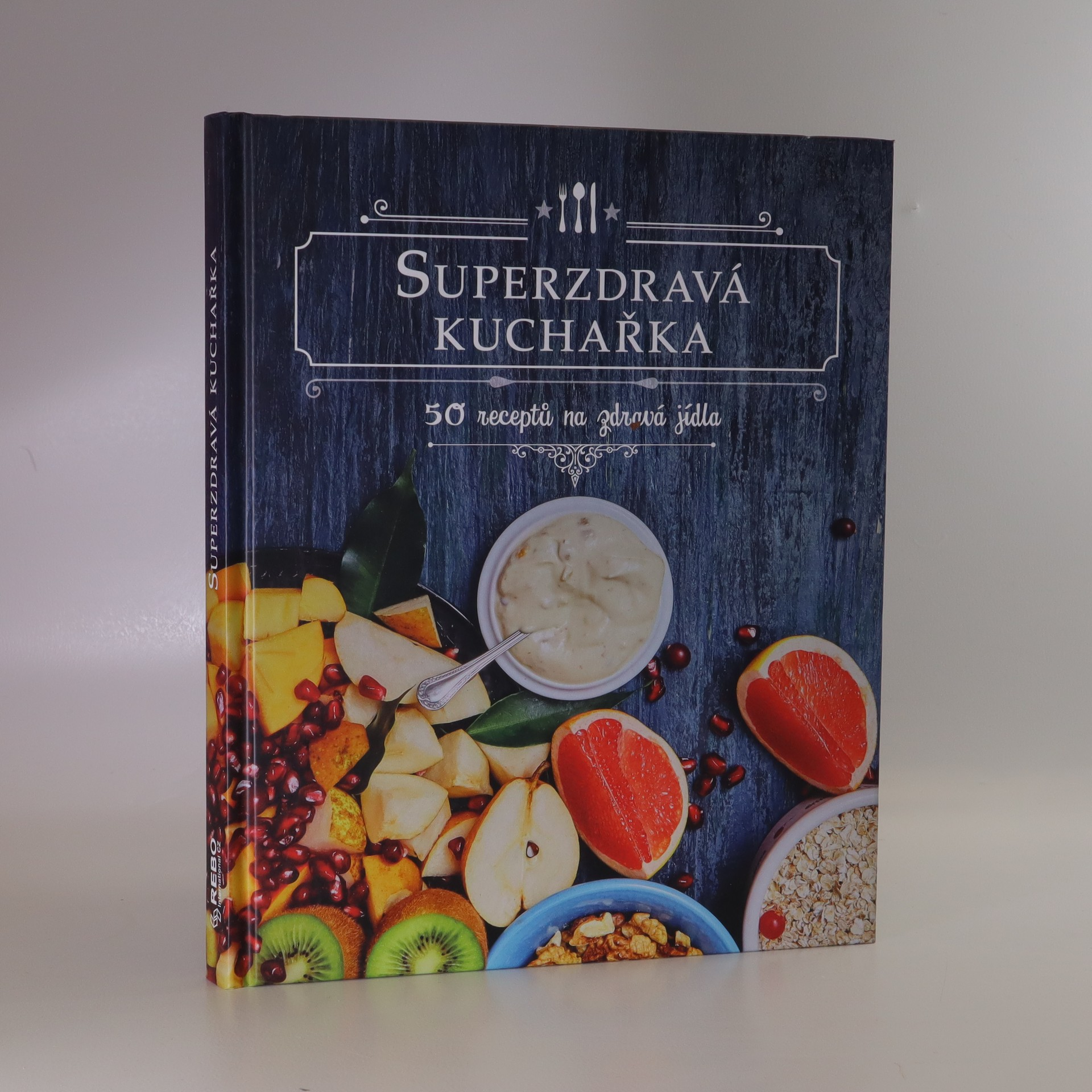 antikvární kniha Superzdravá kuchařka, 2018