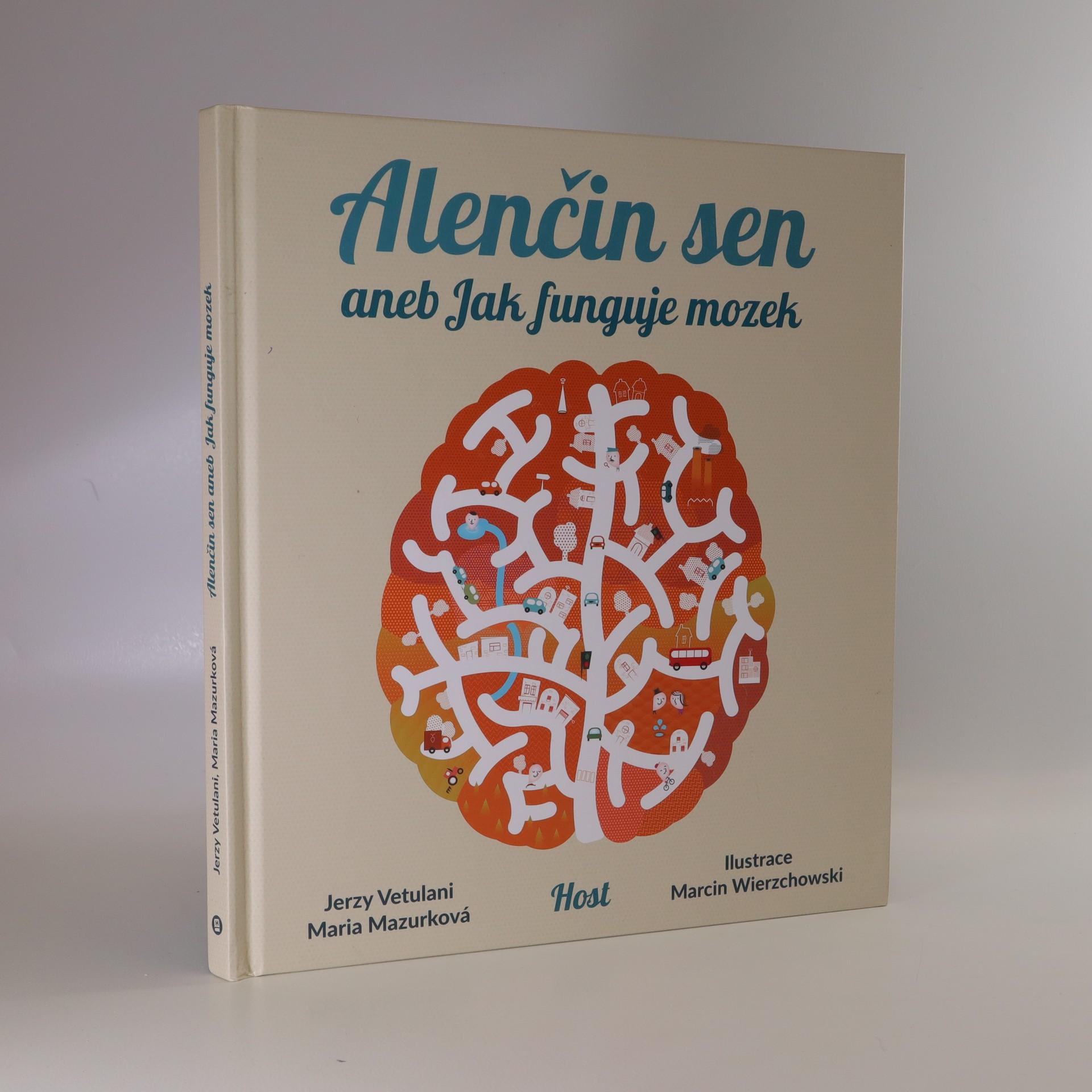 antikvární kniha Alenčin sen, aneb, Jak funguje mozek, 2018