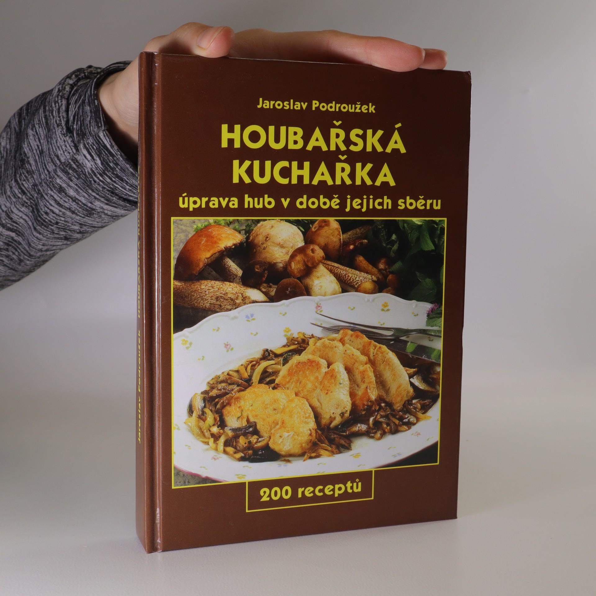 antikvární kniha Houbařská kuchařka, 2003