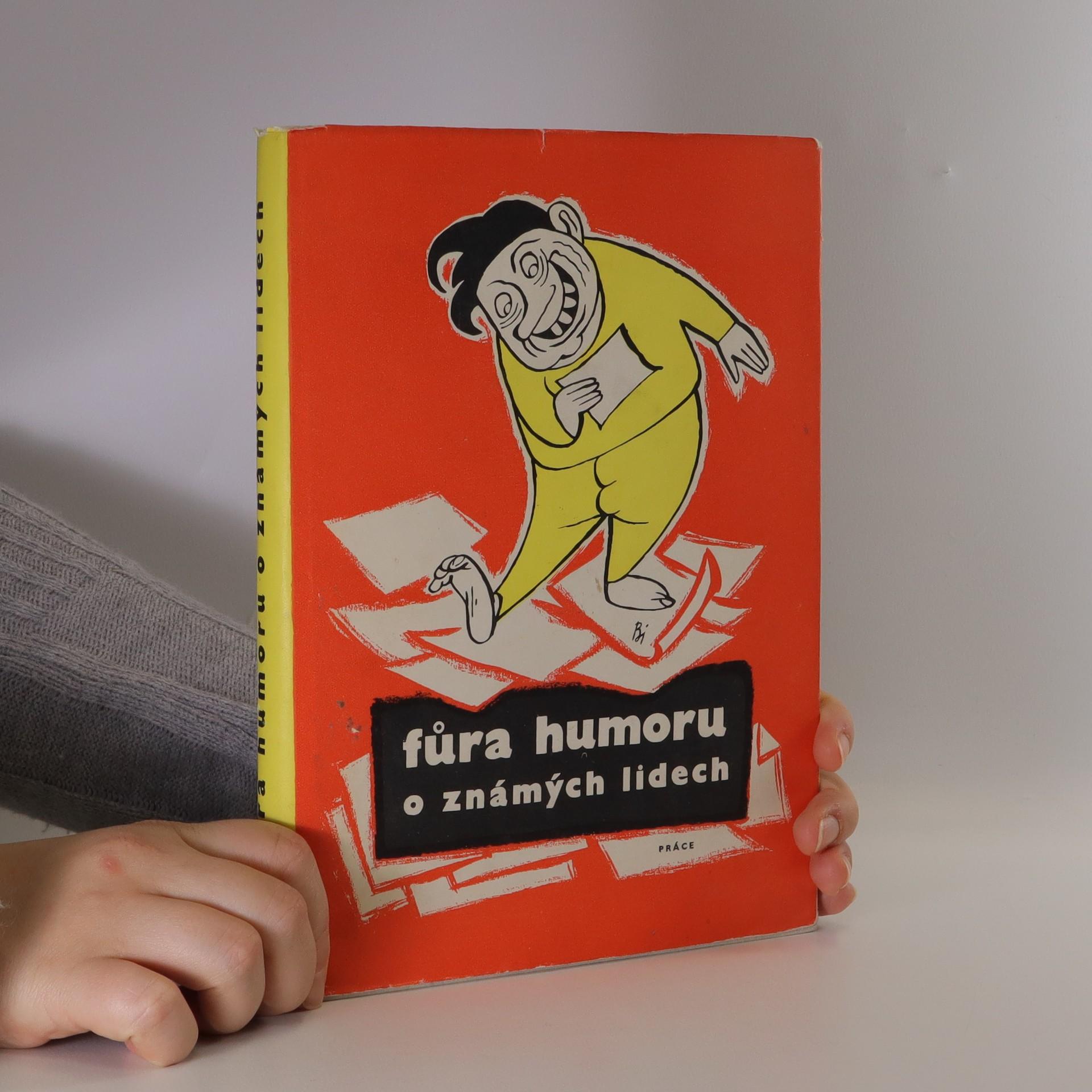 antikvární kniha Fůra humoru o známých lidech, neuveden