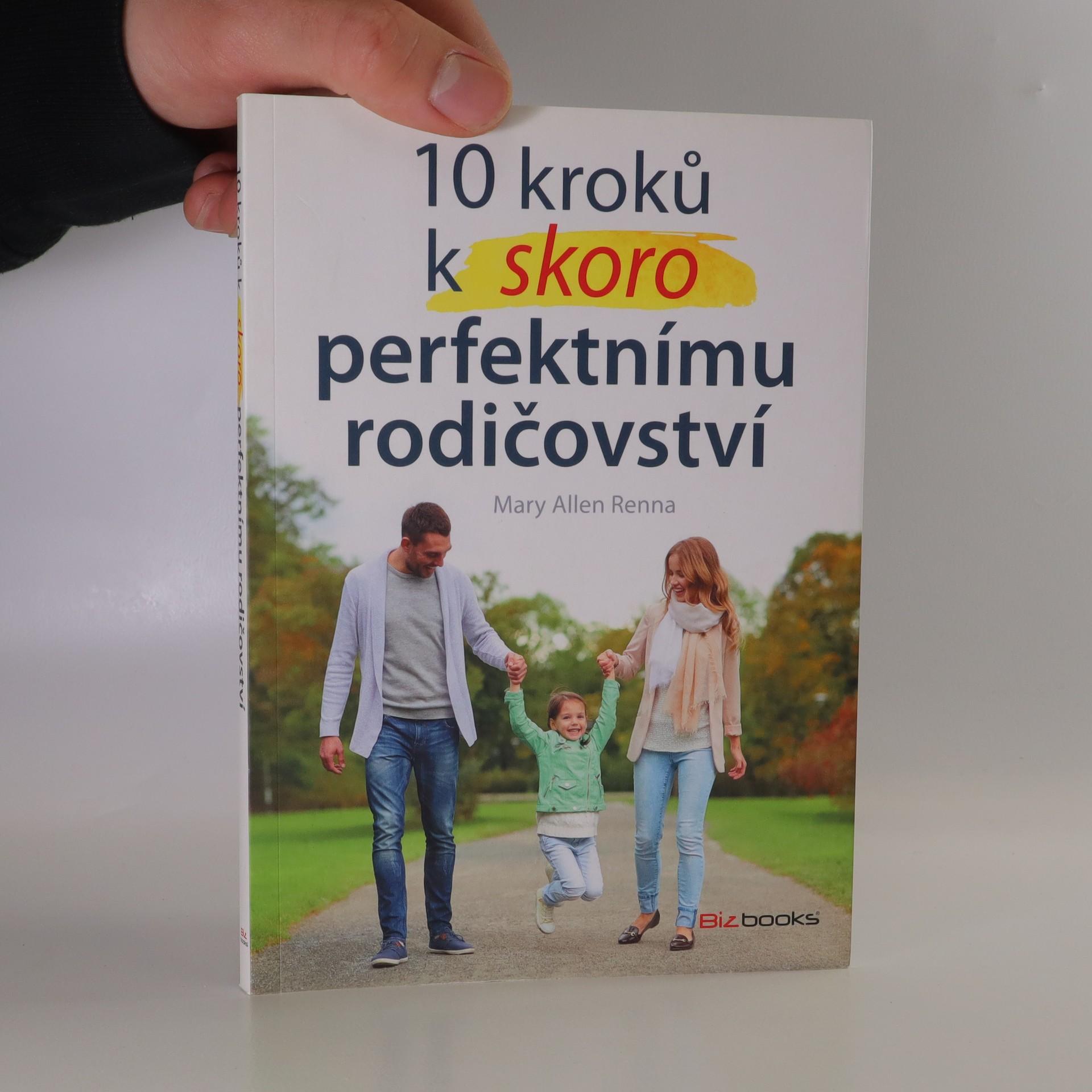 antikvární kniha 10 kroků k skoro perfektnímu rodičovství, 2017