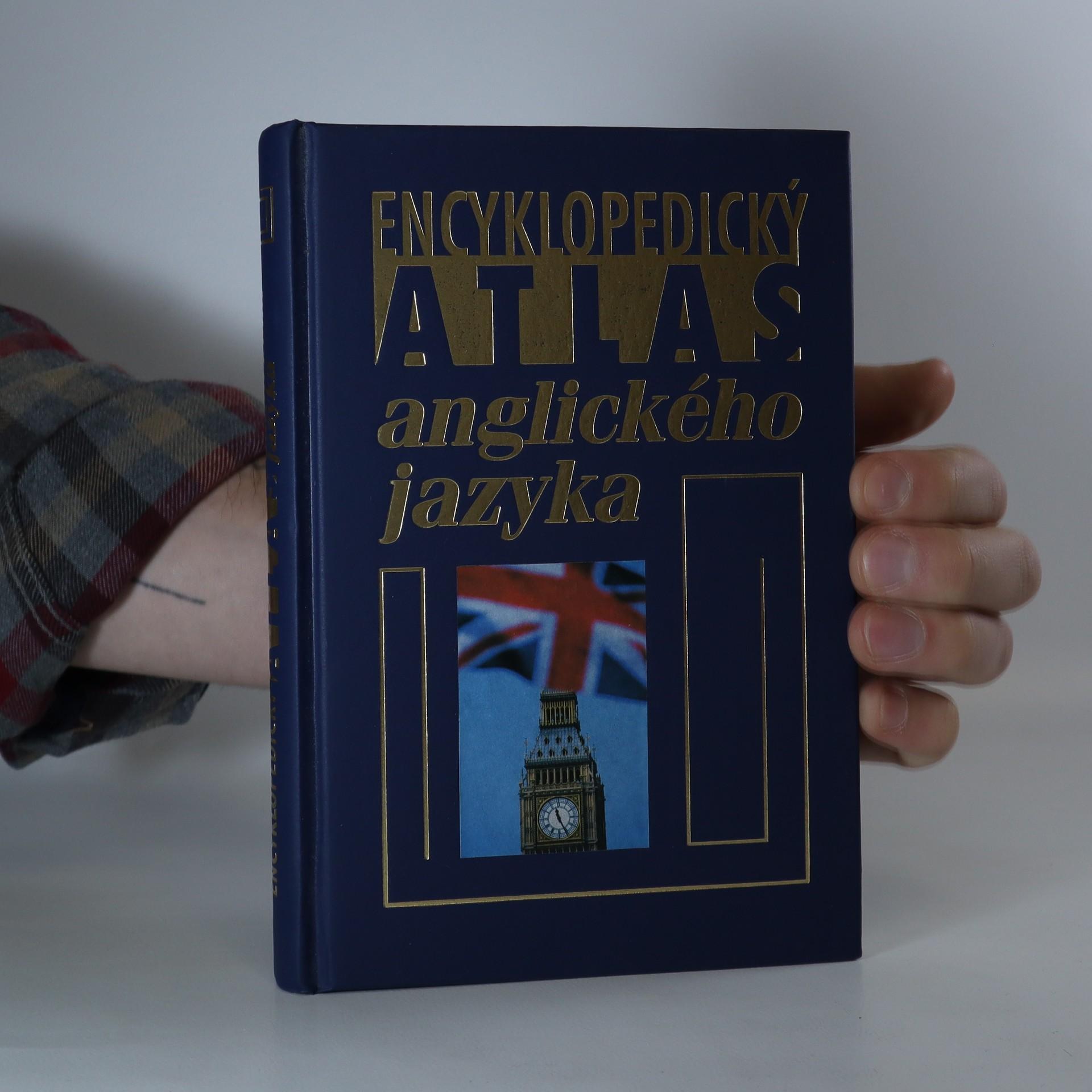 antikvární kniha Encyklopedický atlas anglického jazyka, 2005