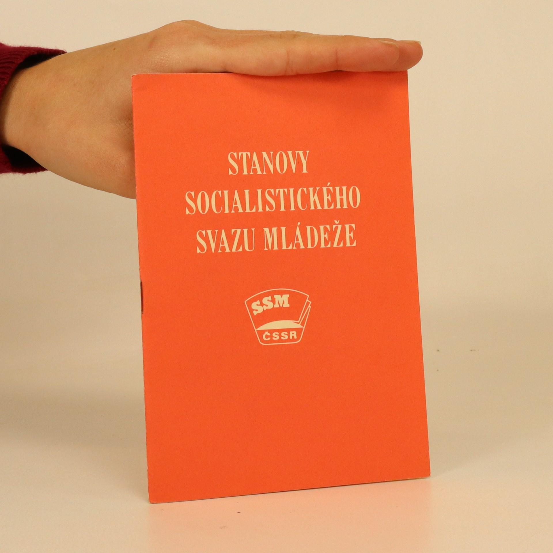 antikvární kniha Stanovy socialistického svazu mládeže, neuveden