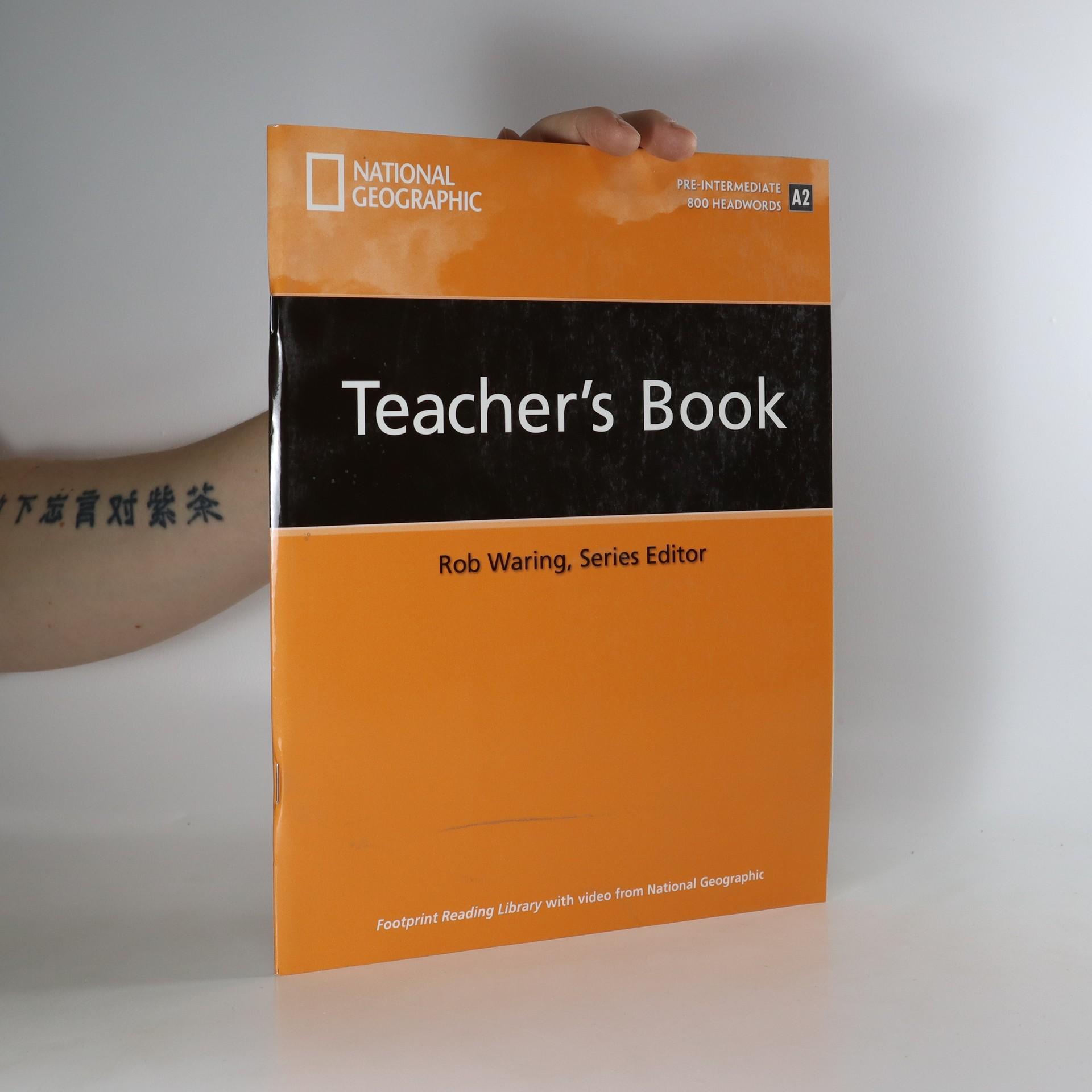 antikvární kniha Footprint Reading Library, Teacher's book, Pre-Intermediate/800 Headwords /A2, neuveden