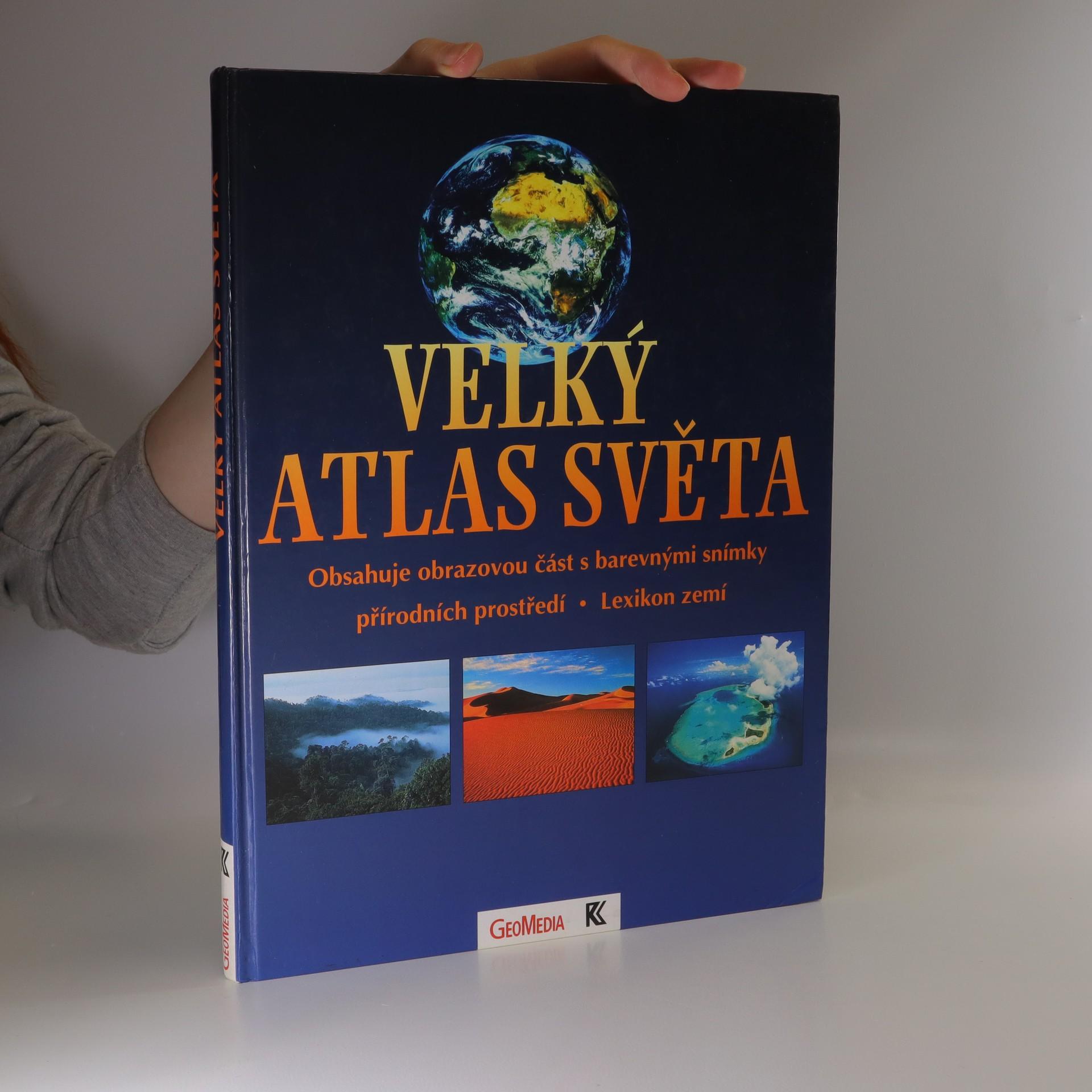 antikvární kniha Velký atlas světa, 1996