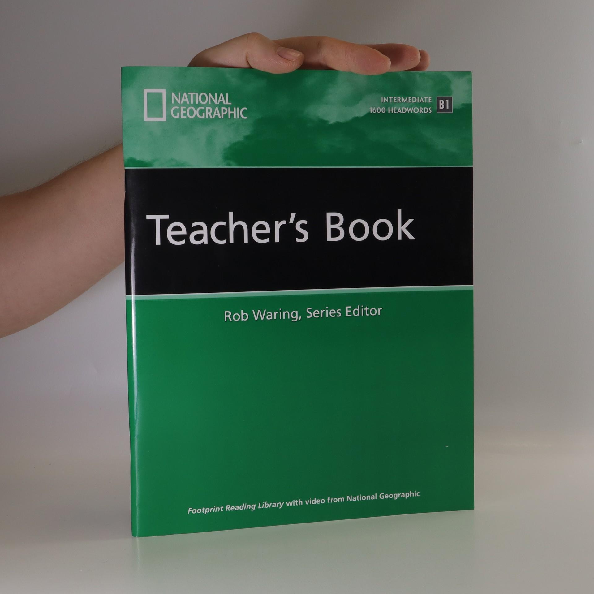 antikvární kniha Footprint Reading Library Teacher's Book. Intermediate. 1600 Headwords. B1, neuveden