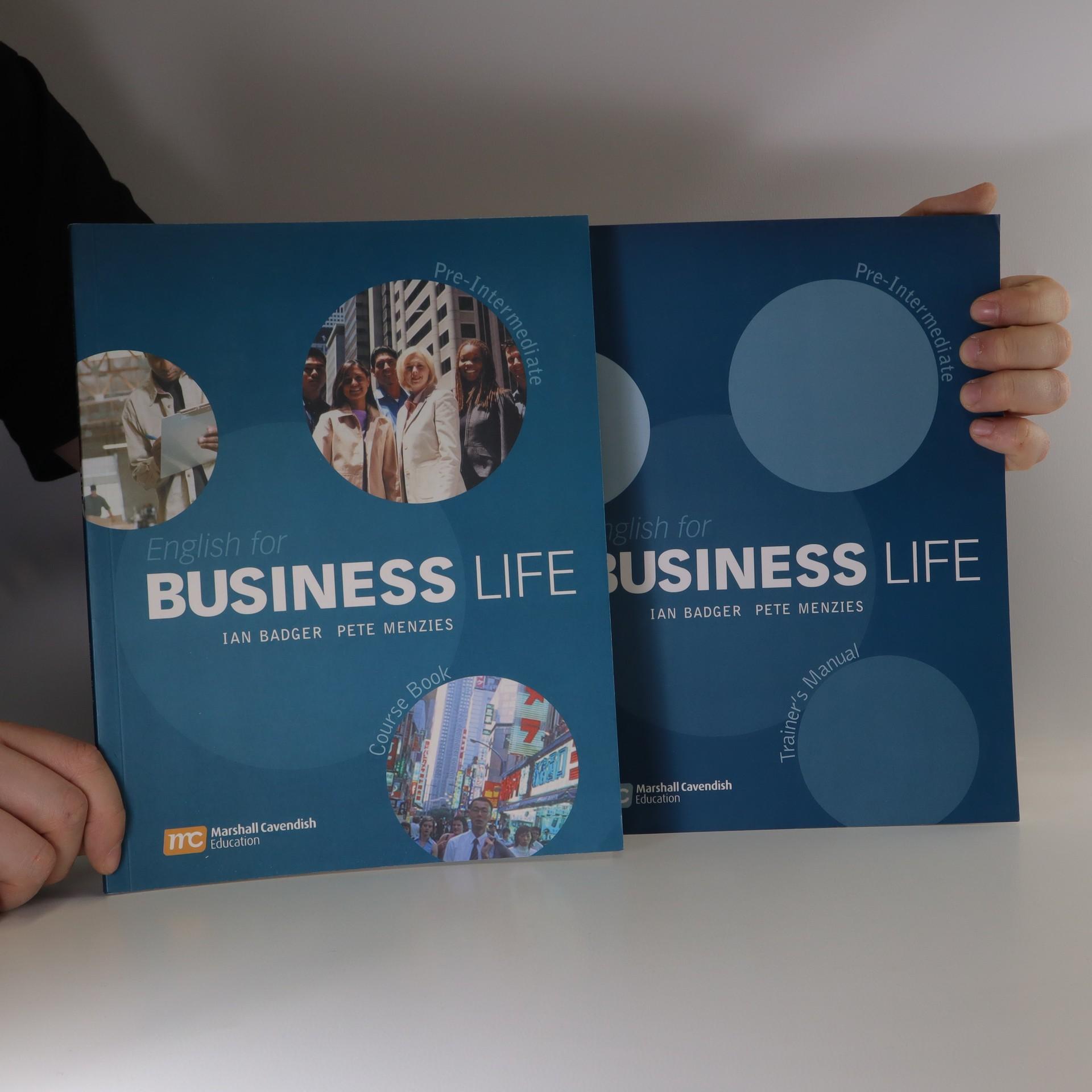 antikvární kniha English for Business Life. Pre- intermediate. Course Book and Trainer's Book (dva sešity, včetně CD), 2005