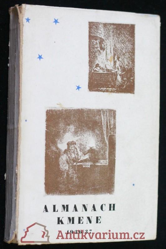 antikvární kniha Almanach Kmene 1936-37, 1937