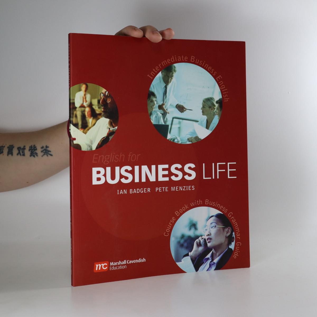 antikvární kniha English for business life; Intermediate business English, neuveden
