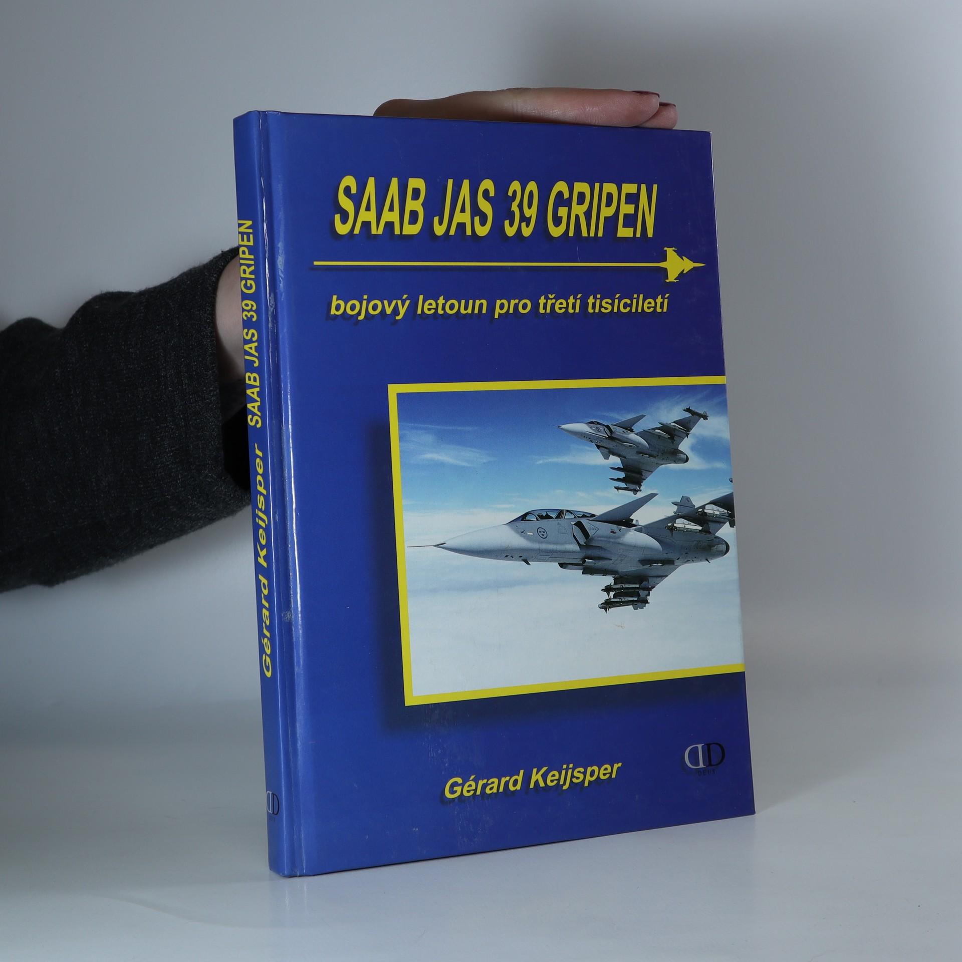 antikvární kniha Saab JAS 39 Gripen. Bojový letoun pro třetí tisíciletí, 2000
