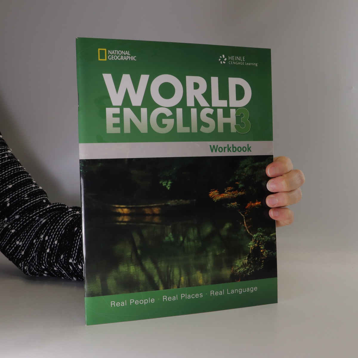 antikvární kniha World English 3 : real people, real places, real language. Workbook, neuveden