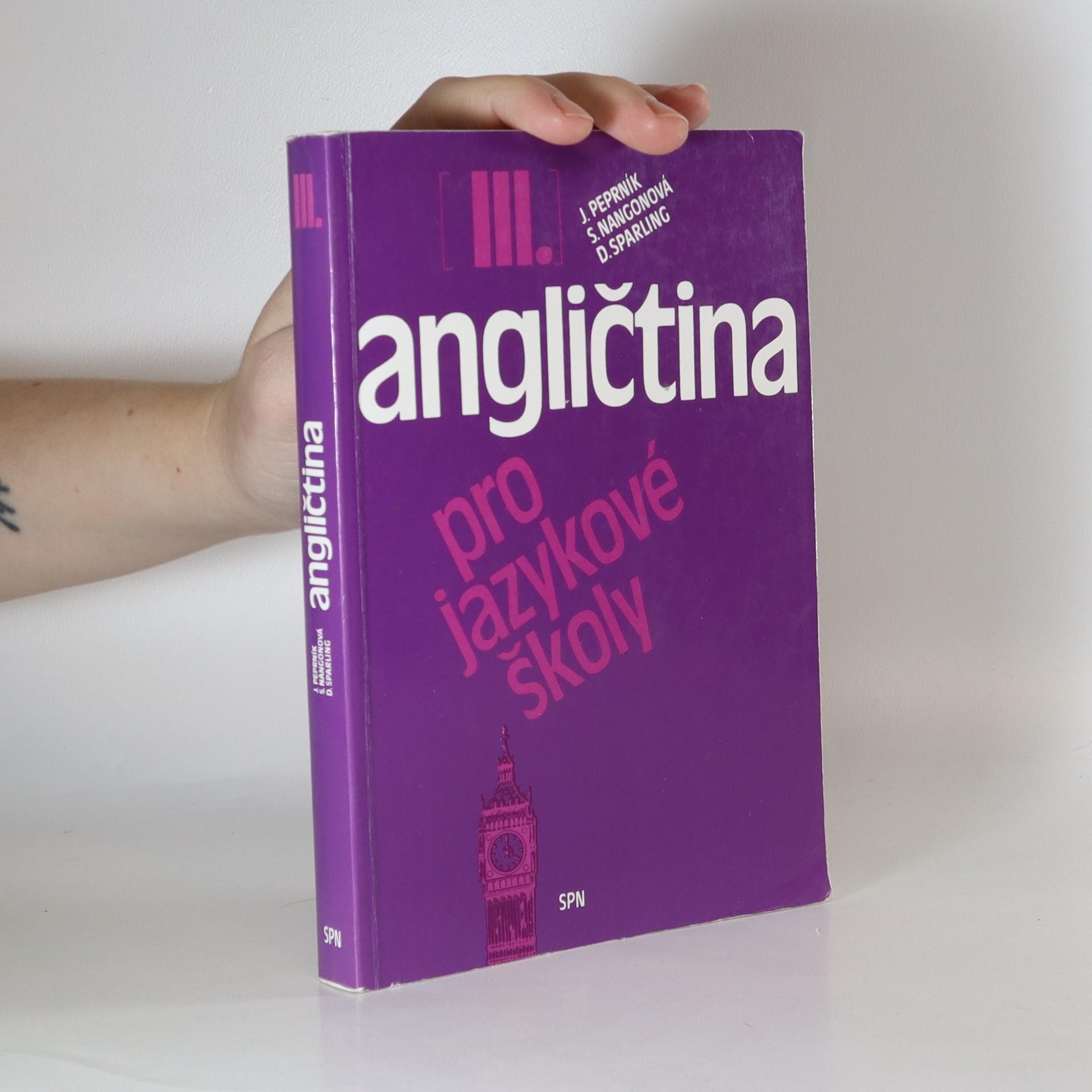 antikvární kniha Angličtina pro jazykové školy. III., 1994