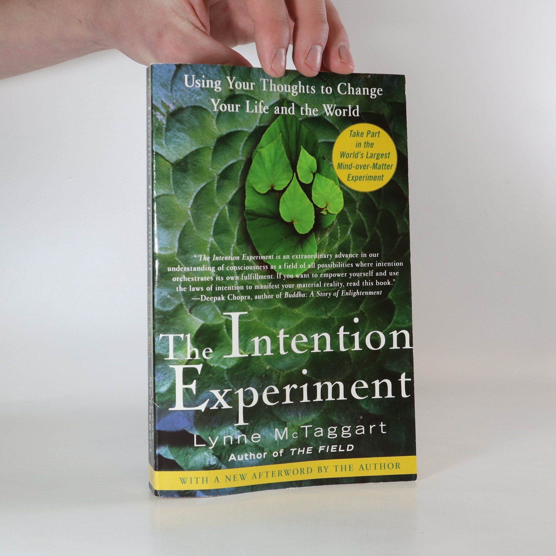 antikvární kniha The Intention Experiment, 2008