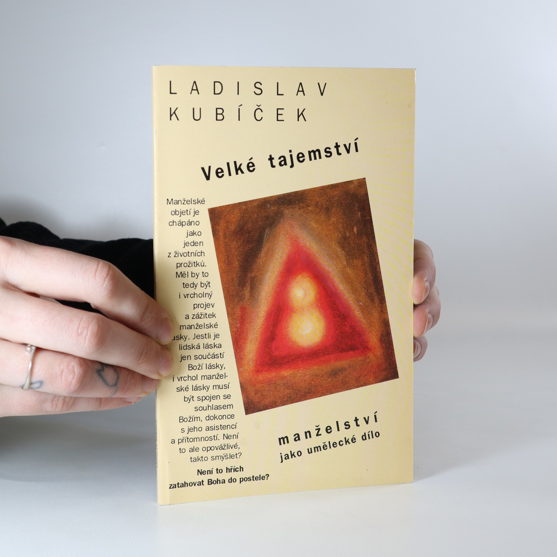 antikvární kniha Velké tajemství : manželství jako umělecké dílo, 1995